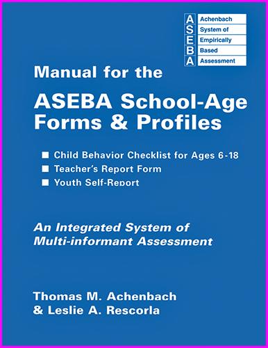 Child Behavior Checklist 6-18-store.aseba.org